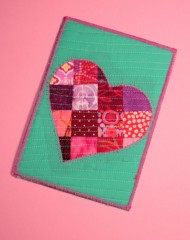 patchwork postcard