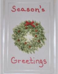 wreathchristmascard