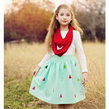 Christmas Skirt - Scattered Mom