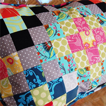 Quilter's Grid Pillow - The Cloth Parcel