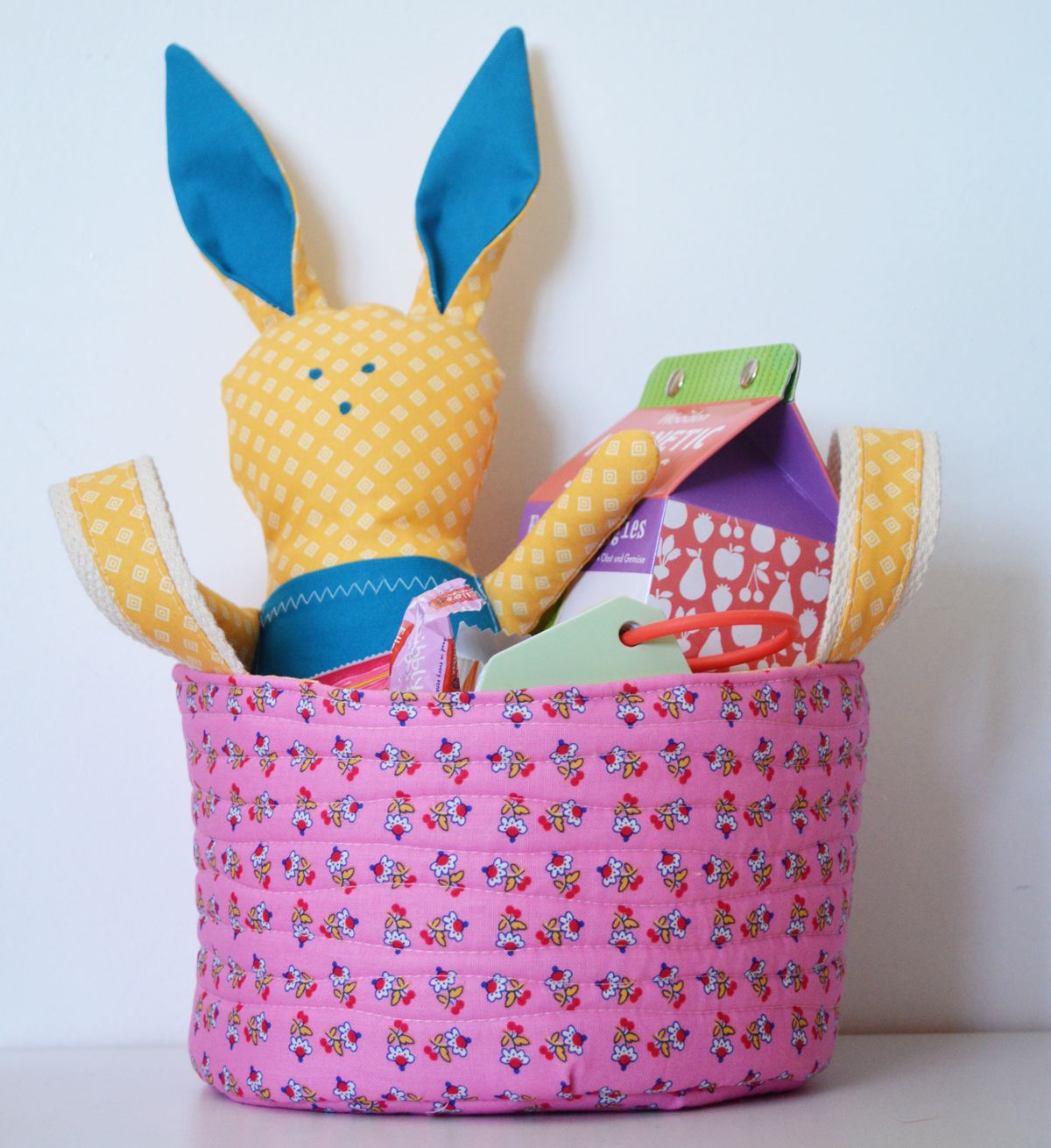 Fabric easter basket pellon projects fabric easter basket negle Images